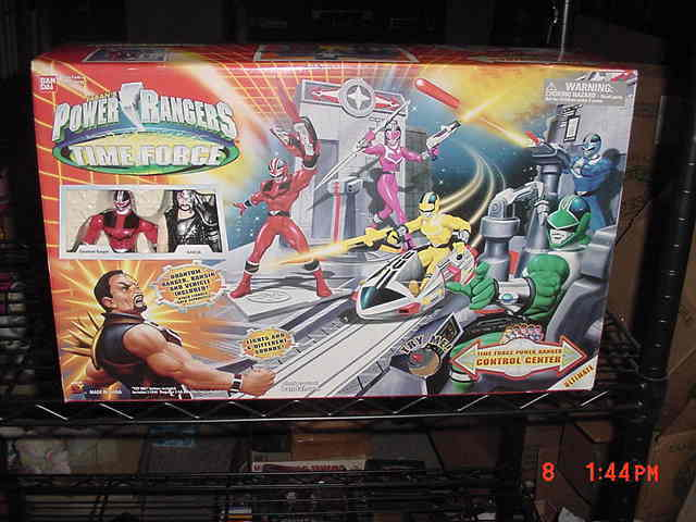 Power Rangers Time Force Control Center Exclusive 5