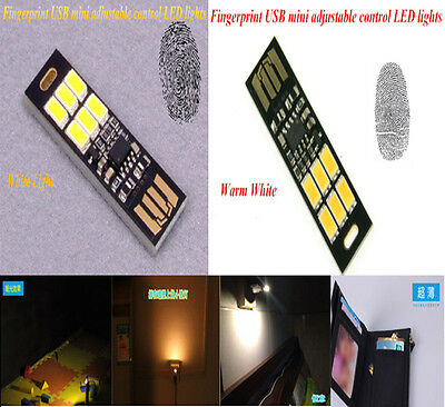 New MINI Touch Switch USB mobile power camping lamp LED night light lamp G