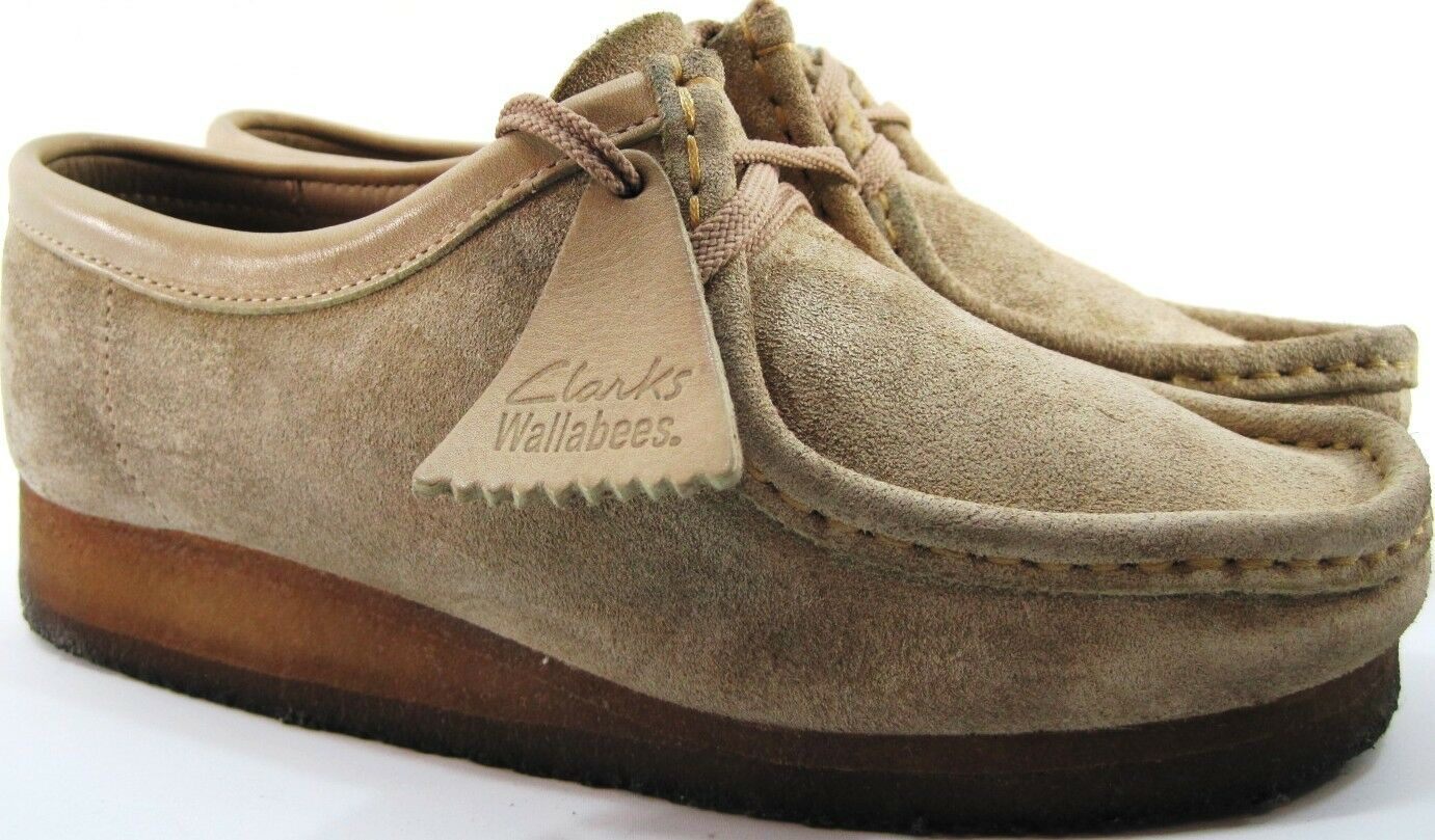 Clarks Originals Wallabees Women shoes Size 9 M Tan Style 35395 Crepe Soles