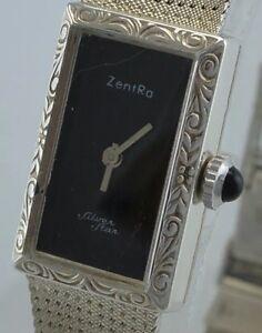 ZENTRA-Silver-Star-Damenuhr-Handaufzug-835-Silber