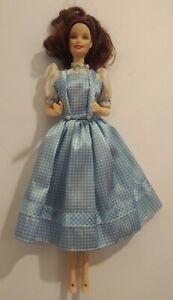 "Dorothy Wizard Of Oz Talking Barbie Doll Light Up Feet 1999 Mattel 11"" *WORKS*"