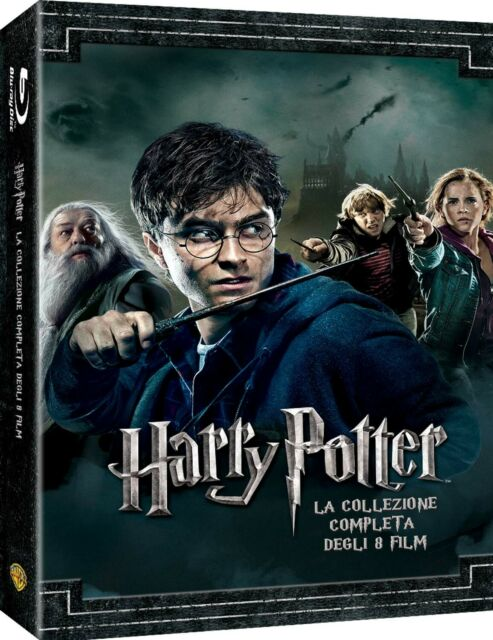 2050106 791974 Blu-Ray Harry Potter Collection (Standard Edition) (8 Blu-Ray)