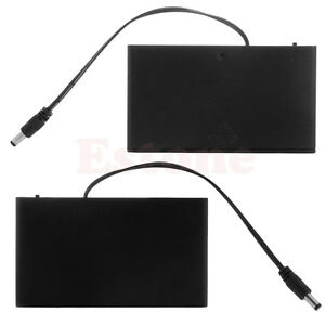 8-AA-12V-Cells-Battery-box-Clip-Holder-Box-Case-Cover-ON-OFF-Switch-Wire-Lead