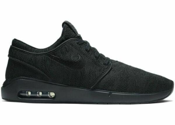 Size 11 - Nike SB Air Max Stefan Janoski 2 Black for sale online ...