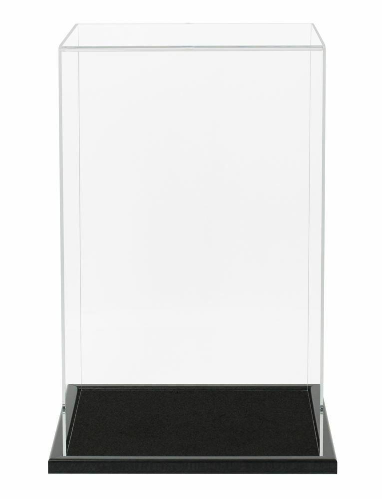 Bambola Acrilico VETRINA con una base in legno  250mm ad alta  economico e di alta qualità