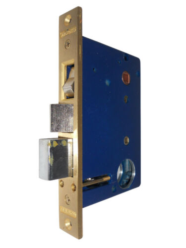 """Marks 22AC//3 Right Hand Reverse Iron Gate Mortise Lock Body With 2-1//2/"""" Backse"""