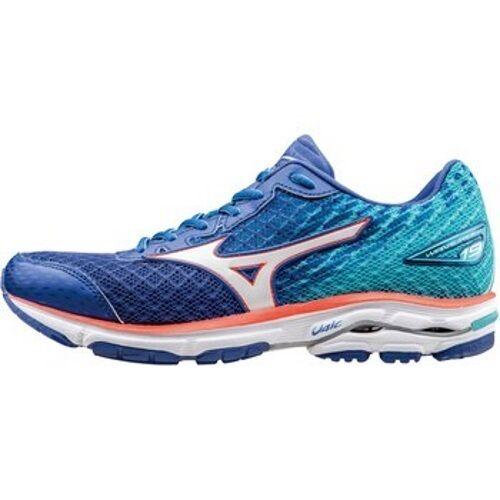 Mizuno Wave Rider 19 Womens Crossrunning Shoes (B) (J1GD160342 Dazzling Blue)