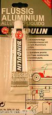 Flüssig-Aluminium 60 g Tube - Reparaturmasse, Kitt für Auto, Boot, Heizkörper ua