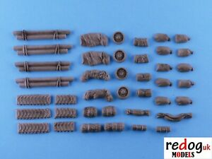 28mm-M4-Sherman-Tank-Stowage-Set-WW2-Bolt-Action-Tank-War-Games-28sh