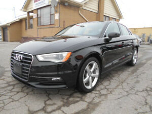 2015 Audi A3 1.8T Komfort Auto Leather Sunroof ONLY 69,000Km