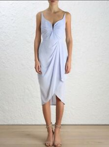 Zimmermann-Silk-Drape-Midi-Dress-Jasmine-Lilac-Cocktail-Bridesmaid-formal