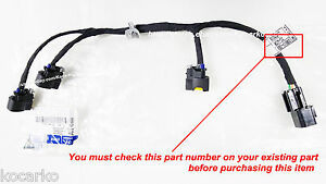 oem ignition coil wire harness fits hyundai santa fe 2 7l 2007 image is loading oem ignition coil wire harness fits hyundai santa