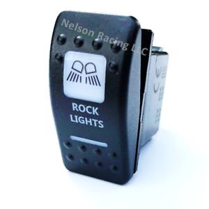 ROCK LIGHTS CAN AM MARINE ROCKER SWITCH AMBER // ORANGE MAVERICK COMMANDER