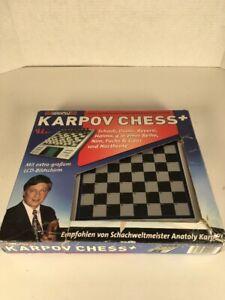 The Millennium Karpov Chess School Chess Computer