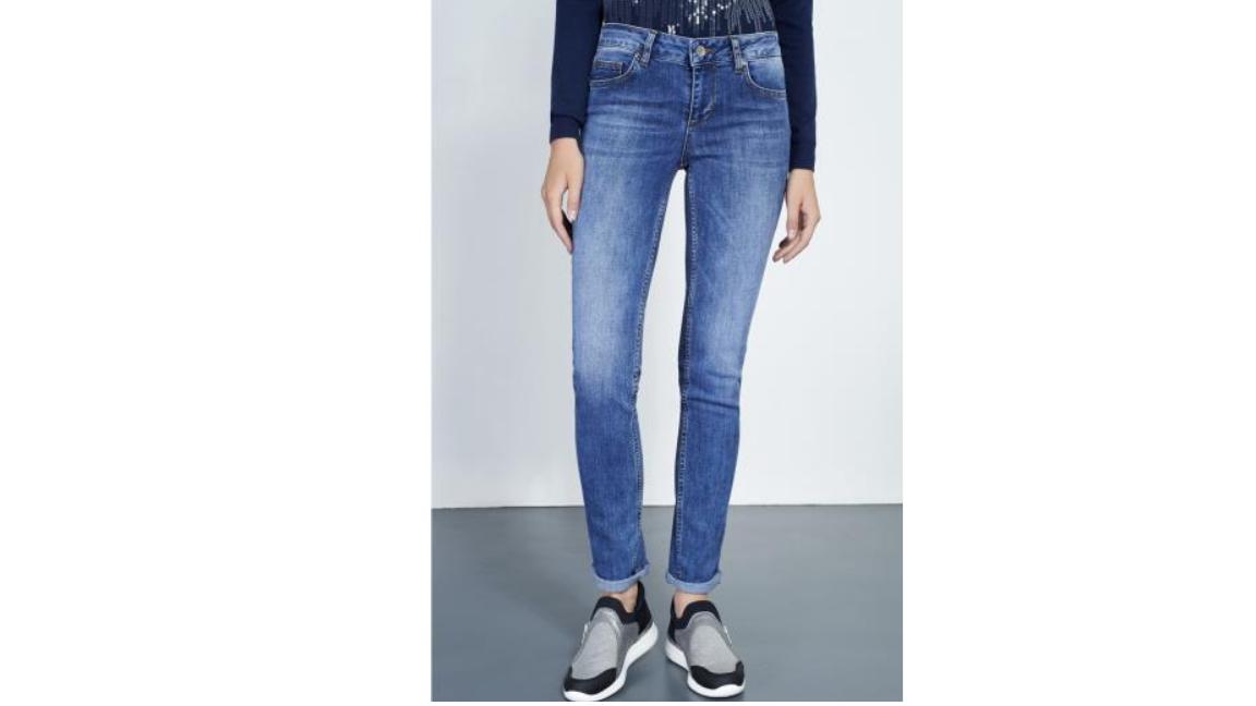 Lui Jo Bottom Up Jeans Größe 31 LF086 JJ 04