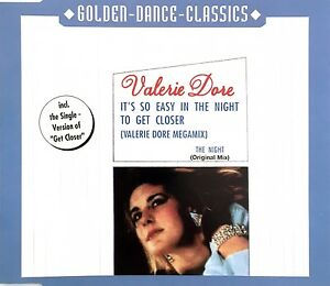 Valerie-Dore-Maxi-CD-The-Night-Germany-M-M