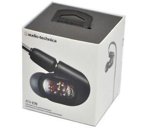 Audio-Technica Professional In-Ear Monitor Headphone ATH-E70 De Japón Nuevo