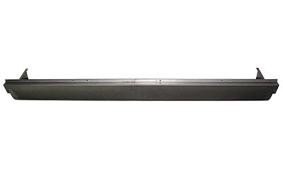 1954-1987 Chevrolet Truck Stepside Bed STEEL Roll Pan with License Box Center