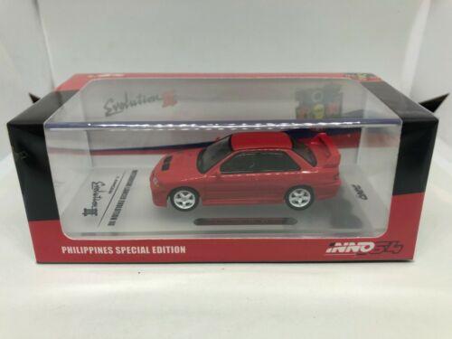 Inno Models 1:64 Mitsubishi Lancer Evolution III Philippines Edition