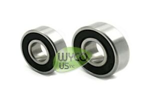"""SET OF 2, MURRAY SPINDLE REPLACEMENT BALL BEARING 99502H & 6203-2RS-5/8"""""""