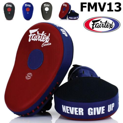 FAIRTEX FMV13 PUNCH TRAINING BOXING MUAY THAI MAXIMIZED FOCUS MITTS MMA K1