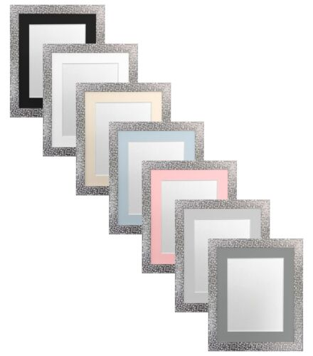 Popstar Picture Photo Frame With Coloured Mounts Black Mount 40 X 50 ...
