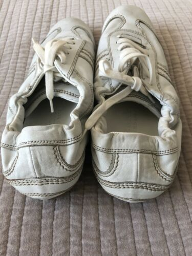 Leather Eu Burberry 39 Trainers White Uk6 Size Ig8Sgr