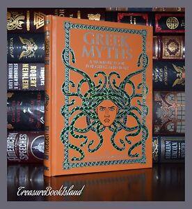 Details about Greek Myths Wonder Book for Boys & Girls Illustrated New  Sealed Leather Bound Ed