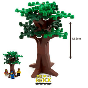 LEGO-Large-Tree-Bushy-Summer-Tree-Flowers-amp-green-leaves-12cm-tall-NEW