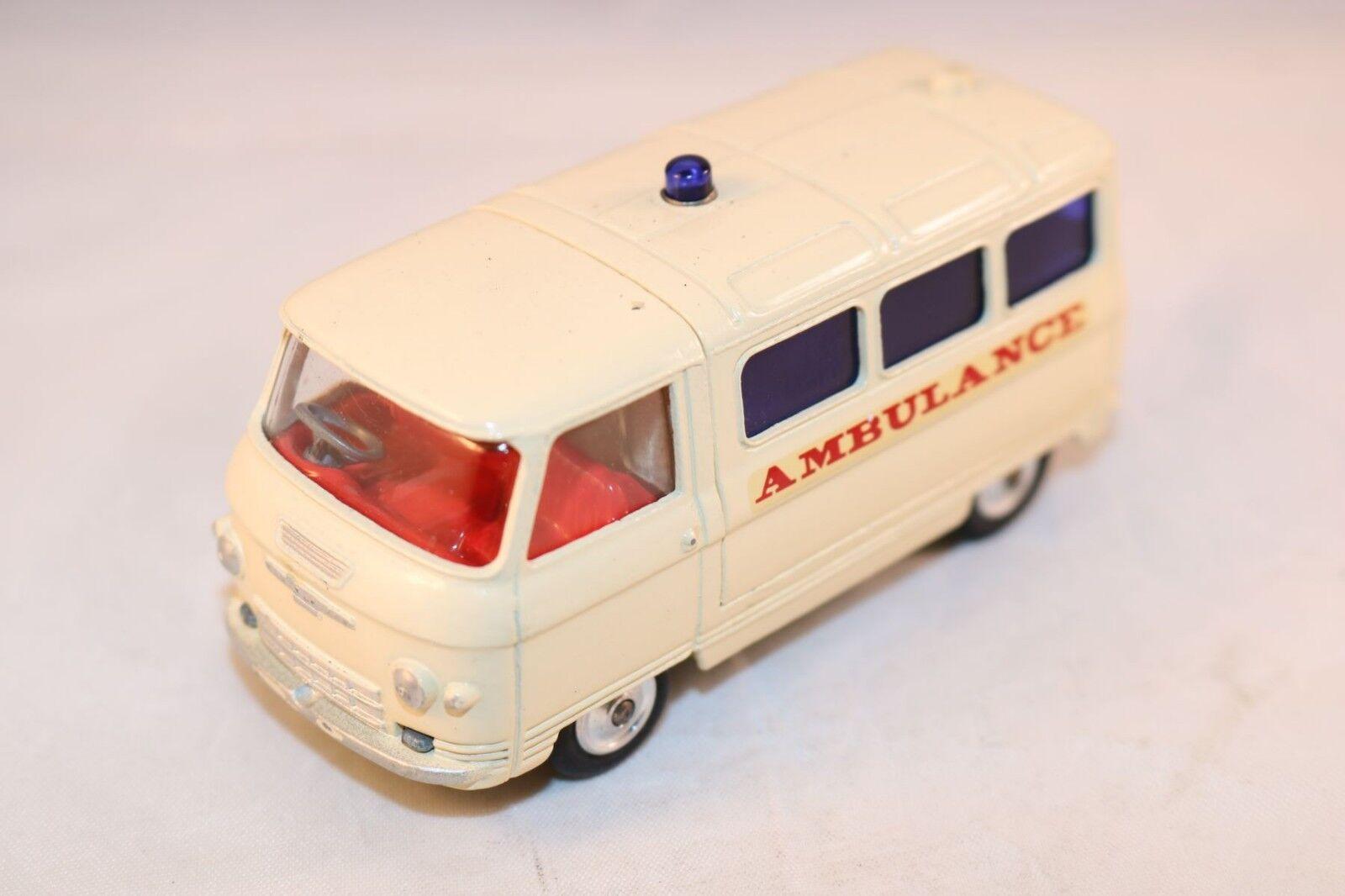 Corgi Toys 463 Commer ambulance svoiturecer cream version  very near mint  prix raisonnable