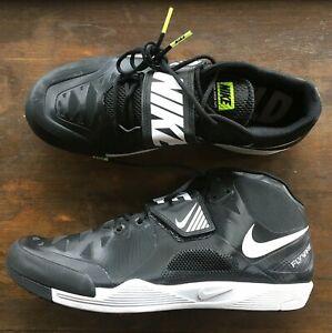 b7f4aaf37f306 Nike Zoom Javelin Elite 2 With Spikes Black White Volt 631055-017 ...
