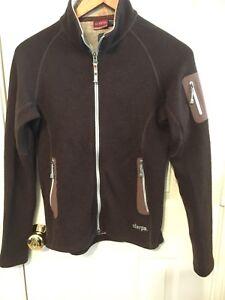 48b2218ba2bc Image is loading Sherpa-Adventure-Gear-Brown-Wool-Fleece-Lined-Jacket-