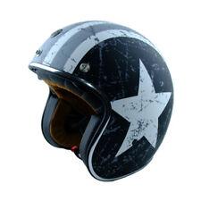 CASCO ORIGINE SPRINT REBEL STAR GREY CAPITAN AMERICA MOTO SCOOTER MISURA L