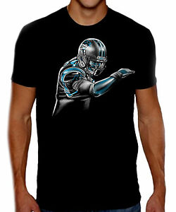 6c0d33a6 Details about Cam Newton - Dab On Em - NFL Carolina Panthers - Unisex Black  T-shirt