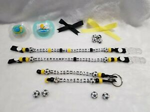 "Baby /""Daddy And Me Support WWFC/"" Dummy Clip Keepsake Wolverhampton Wanderers"