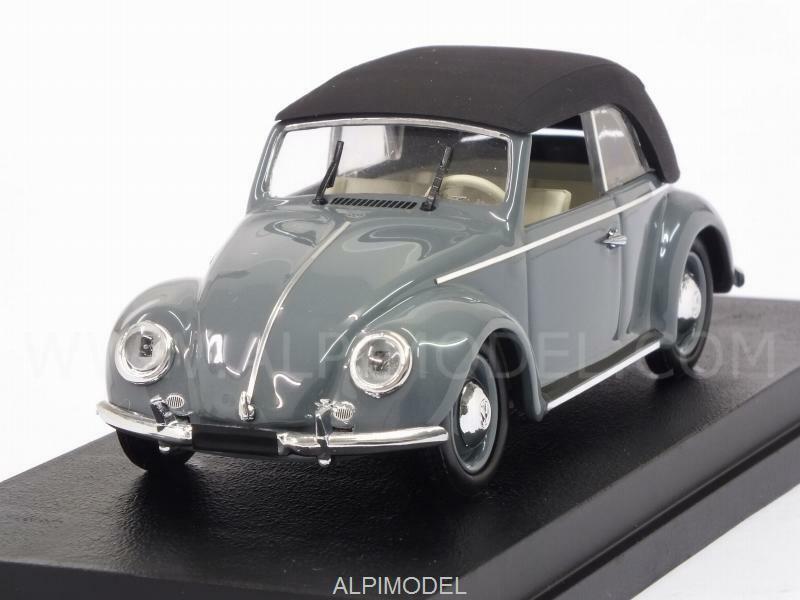 Volkswagen Maggiolino 1949 Cabrio closed gris 1 43 RIO 4513