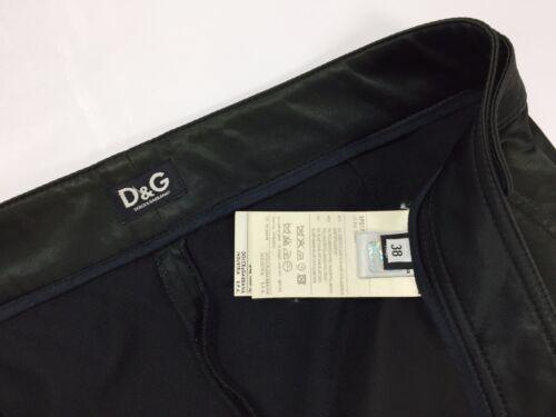 Pantalone Dolce Donna Aderenti Skinny Nero Gabbana Lucido Hot Usato Dg Raso rU6rqEw