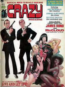 CRAZY Magazine (satire & humor) - 90 issues on a CD