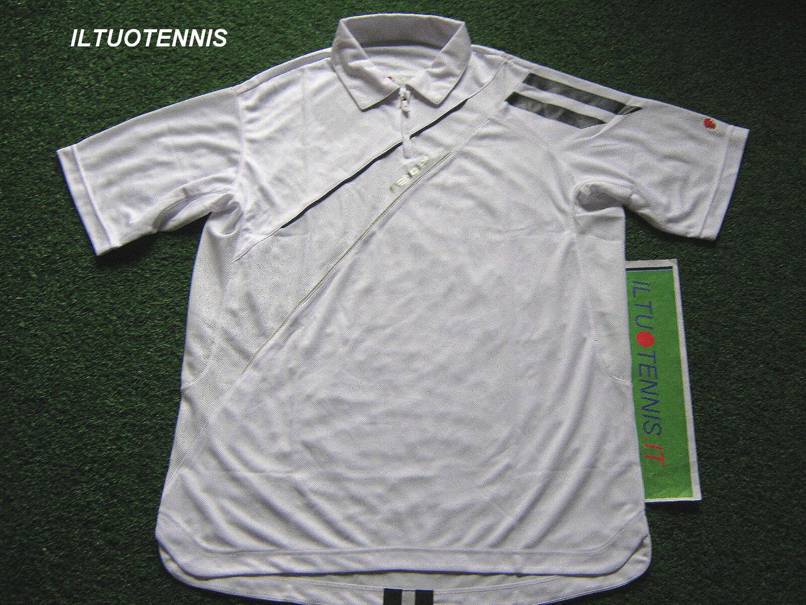 Polo tennis BABOLAT mod.CLUB col. BIANCO TG.M -sped.inclusa