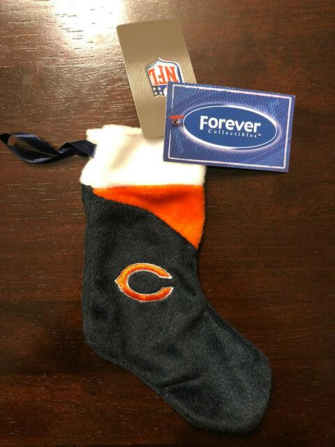 """Chicago Bears NFL Mini 7.5"""" Christmas Stocking Velour ..."""
