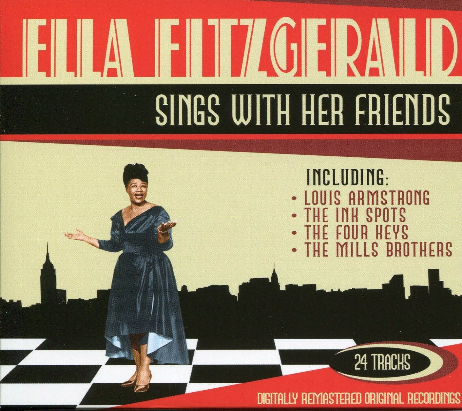 f778b9bd690023 Ella Fitzgerald - Sings With Her Friends  Remastered  (2007) for ...