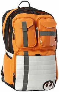 Star-Wars-Rebel-Alliance-Icon-Orange-Cosplay-Backpack-School-Bag-Laptop-Purse
