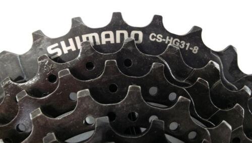 1 SHIMANO ACSHG 318130 Cassette 8 Speed 11-30 CS-HG31