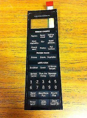 Sharp Microwave R 530es Oem Replacement Keypad On Control Funtkb281mre0 Ebay