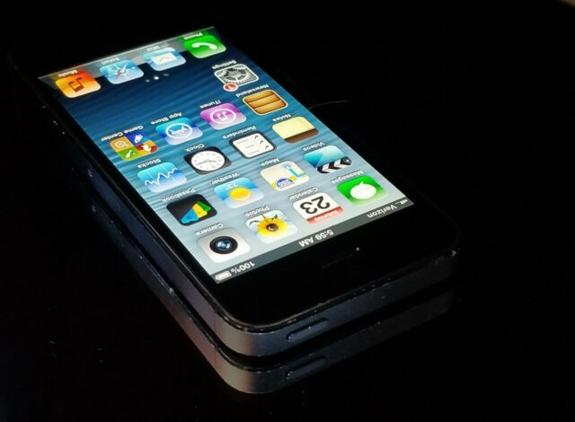 Apple iPhone 5 - 32GB - Black & Slate (Unlocked) A1429 (CDMA + GSM) iOS 6