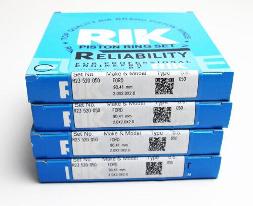 FORD Transit 2.4 TDCi 0.50mm Set di 4 Anelli Pistone Oversize