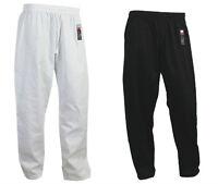 Giko Martial Arts, Karate Trousers - Pants - Black White Training Unisex Gi Suit