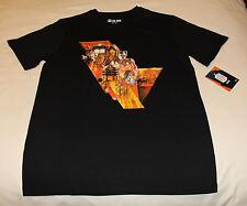 BBC Doctor Who Symphonic Mens Black Printed Short Sleeve T Shirt Size L New