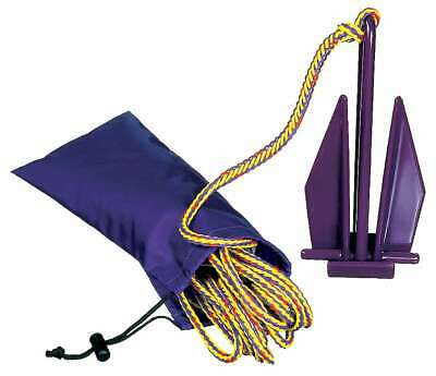 Kayaking, Canoeing & Rafting Airhead Pwc & Sup/kayak Vinyl Coated Anchor With Line In Carry Bag