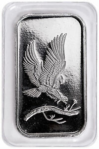 SilverTowne-Mint-Eagle-Design-1-oz-999-Fine-Silver-Bar-SKU48242